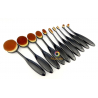 Set de 10 brosses douces