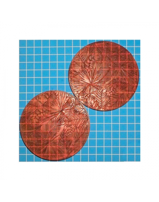 2 Texture stamps Nr 111 normal & inverted