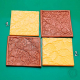 4 mini texture stamps Nr 5