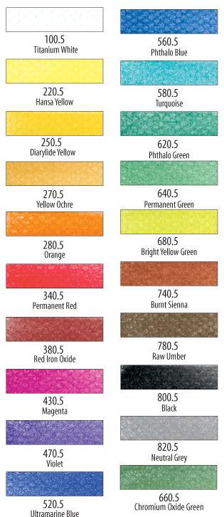 20 couleurs base