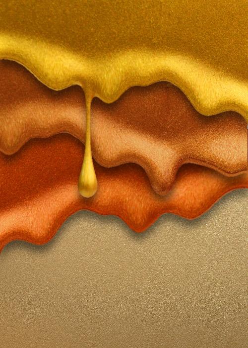 Peintures métalliques