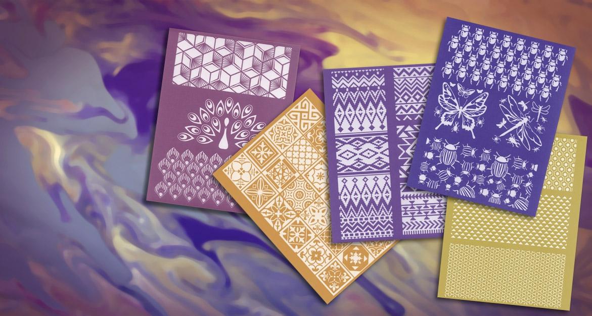 New Graine Créative silkscreens