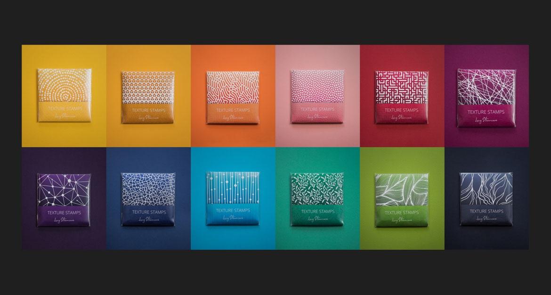 Lucie Struncova texture stamps